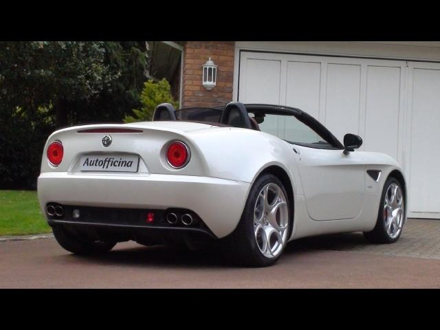 Used Alfa Romeo 8C Spider for sale in Epsom, Surrey