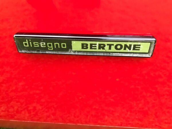 Bertone badge.JPG